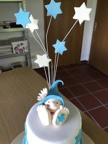 Makerist - Finn's Tauftorte - Torten, Cake Pops und Cupcakes - 3