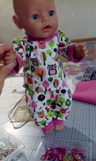 Makerist - Anziehsachen für Baby Born aus Jersey als Geschenk - 1