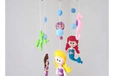 Makerist - Filz Mobile Ariel.Schöne Deko für das Kinderzimmer. - 1