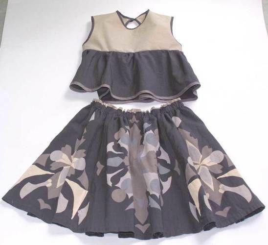 Makerist - Upcycling Kleid zu Rock und Top - Nähprojekte - 1