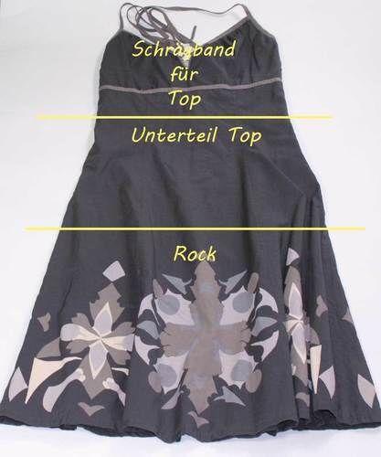 Makerist - Upcycling Kleid zu Rock und Top - Nähprojekte - 2