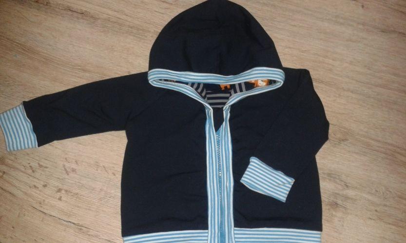 Makerist - Hooded-Baby Jacket nach Kds5  - Nähprojekte - 1