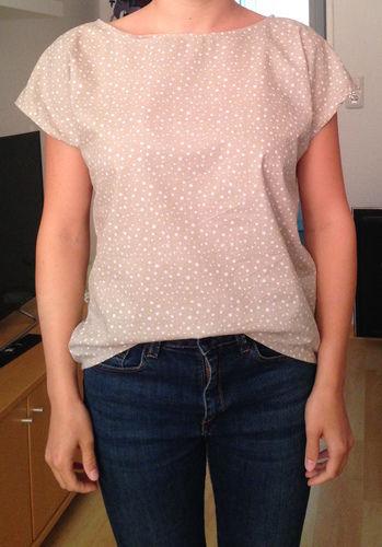 Makerist - Sommerbluse aus Baumwolle - Nähprojekte - 1