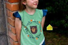 Makerist - Krumm & Schief Shirt aus Jersey für kleine Mädels - 1