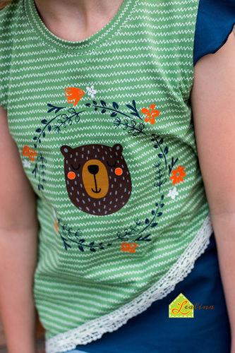Makerist - Krumm & Schief Shirt aus Jersey für kleine Mädels - Nähprojekte - 2