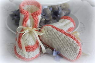 Makerist - Babyschuhe im Vintage Style - 1
