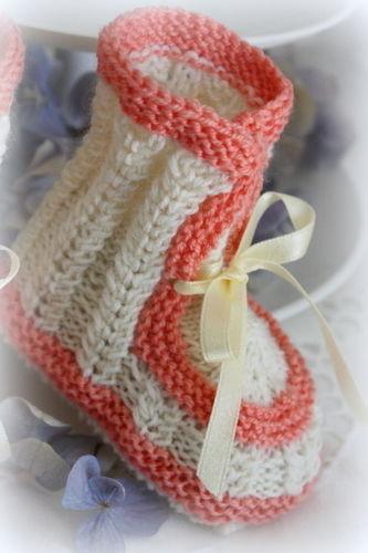 Makerist - Babyschuhe im Vintage Style - Strickprojekte - 2