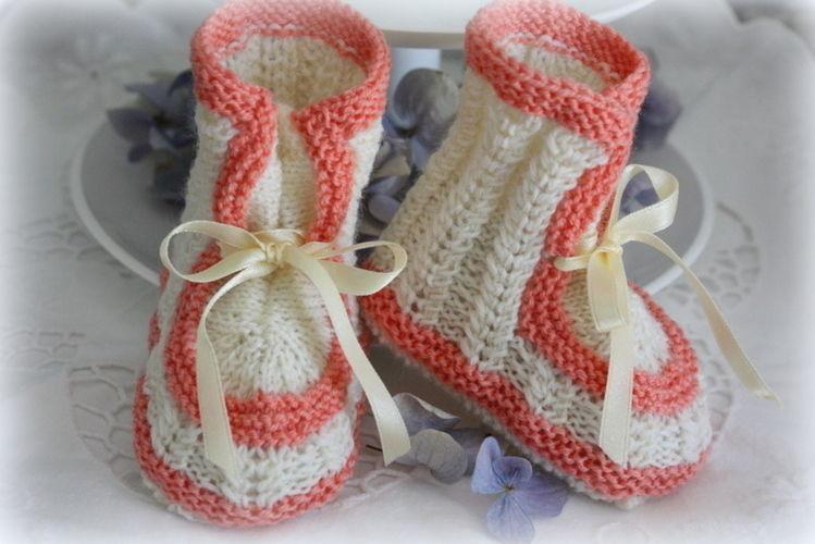 Makerist - Babyschuhe im Vintage Style - Strickprojekte - 3