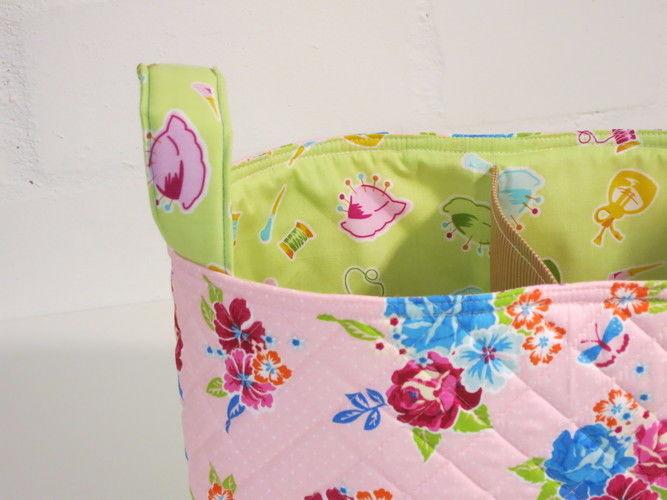 Makerist - Divided Basekt zur Geburt eines Mädchens - Nähprojekte - 2