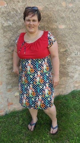 Makerist - Kleid Ferrara von Schnittbox  - Nähprojekte - 1