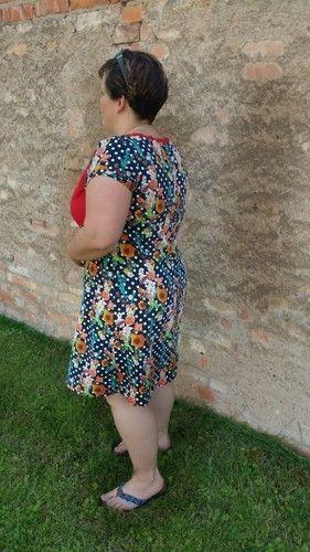 Makerist - Kleid Ferrara von Schnittbox  - Nähprojekte - 2