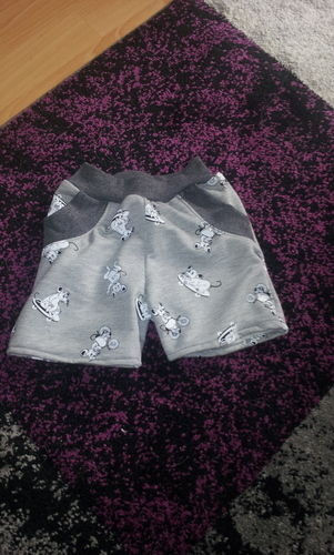 Makerist - Lieblings kurze Hose mit Taschen - Nähprojekte - 1