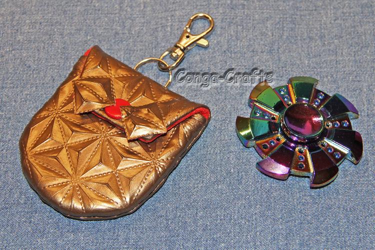 Makerist - Spinnertasche aus edlem 3D-Kunstleder - Nähprojekte - 1