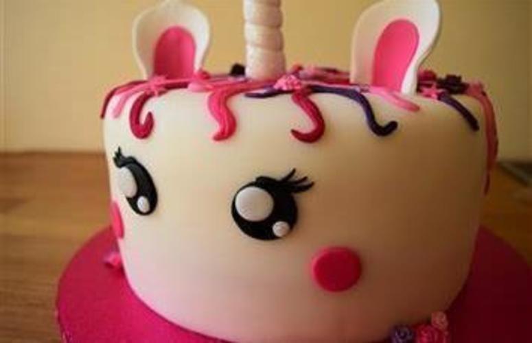 Makerist - Einhorn Torte - Torten, Cake Pops und Cupcakes - 2