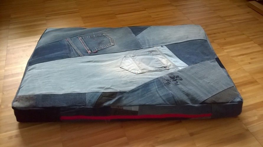 Makerist - Upcycling: Jeans zu Hundekissen - Nähprojekte - 1