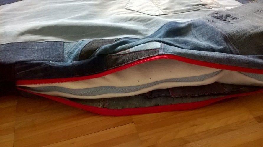 Makerist - Upcycling: Jeans zu Hundekissen - Nähprojekte - 2