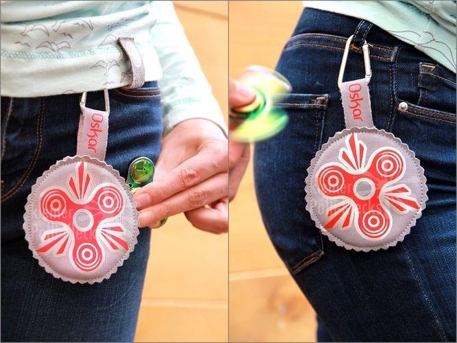Makerist - You spin my head.... Fidget Spinner Taschen aus Softshell und Kunstleder, mit Plottmotiv für meine Kinder und alle Spinner ;-) - Nähprojekte - 1