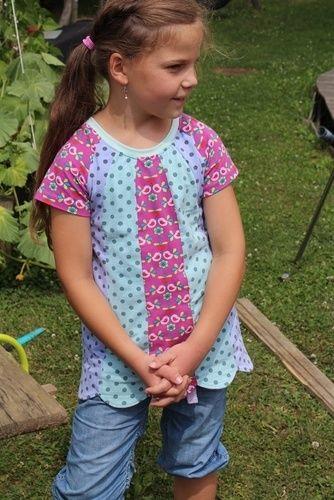 Makerist - Mädchenshirt FRIEDERIKE - Nähprojekte - 1