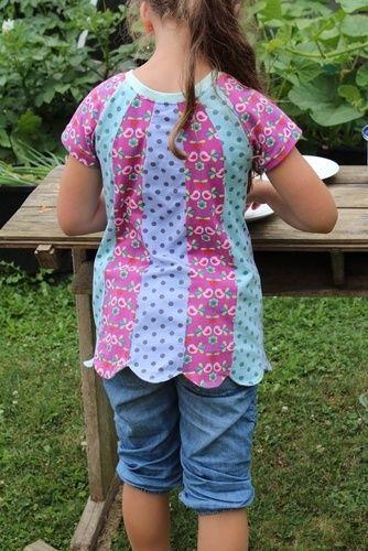 Makerist - Mädchenshirt FRIEDERIKE - Nähprojekte - 2