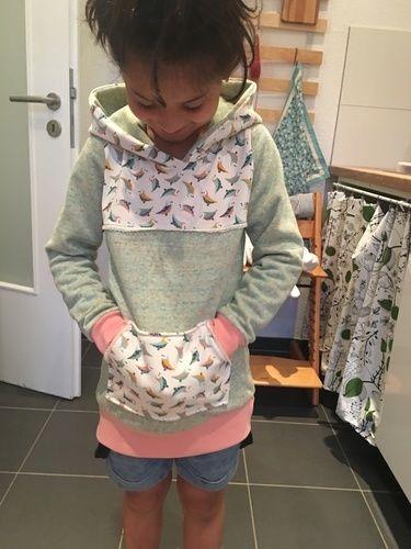 Makerist - Lieblingshoodie für meine Tochter  - Nähprojekte - 1