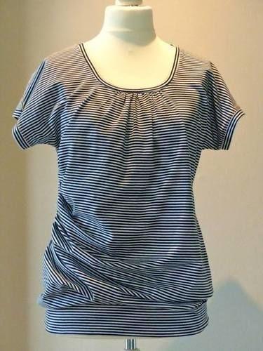 Makerist - Streifen-Shirt - Nähprojekte - 1