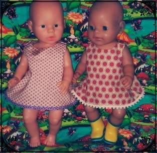 37 Schnittmuster Gr 43cm Puppen Puppenkleidung