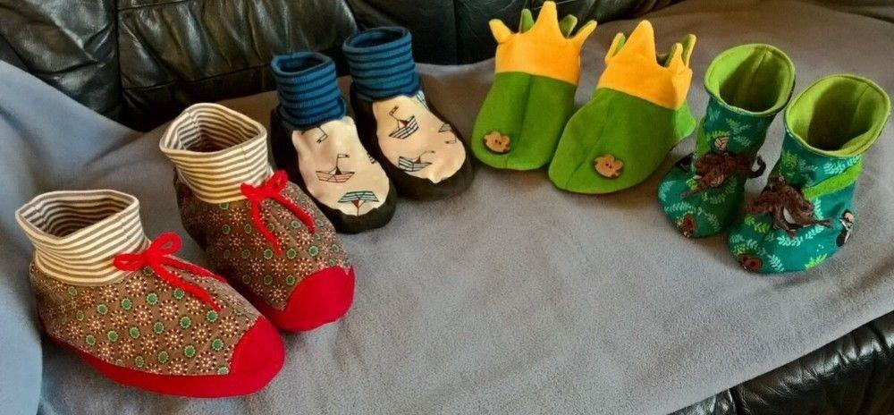Makerist - Kinder Hausschuhe - Nähprojekte - 1