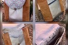 Makerist - Tasche im Materialmix - 1
