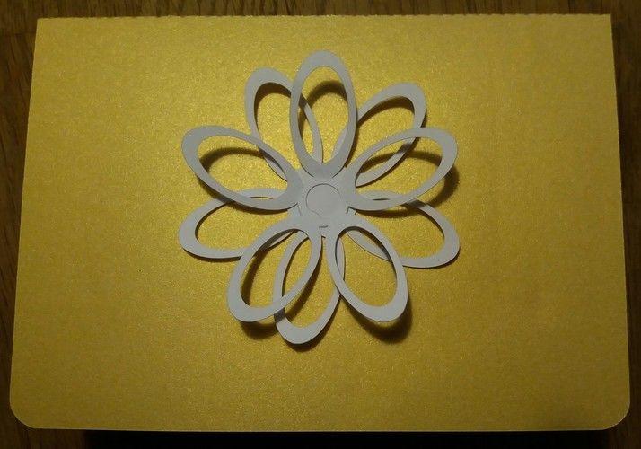 Makerist - Geplottete Pop-up-Karte - DIY-Projekte - 2