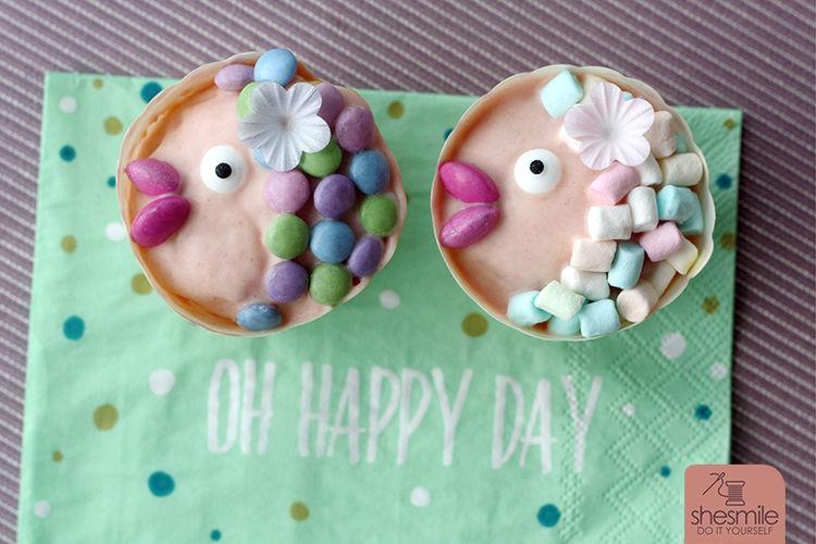Makerist - Fisch-Muffins zur Taufe - Torten, Cake Pops und Cupcakes - 1