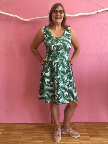 Makerist - Sommerliches Jersey-Kleid - Nähprojekte - 1