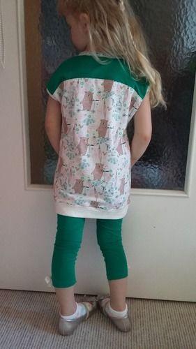 Makerist - Easy peasy Longshirt+Leggings...es muss nicht immer pink sein - Nähprojekte - 1