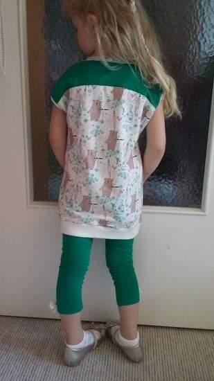 Makerist - Easy peasy Longshirt+Leggings...es muss nicht immer pink sein - 1