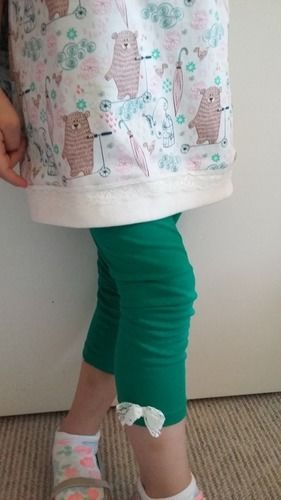 Makerist - Easy peasy Longshirt+Leggings...es muss nicht immer pink sein - Nähprojekte - 3