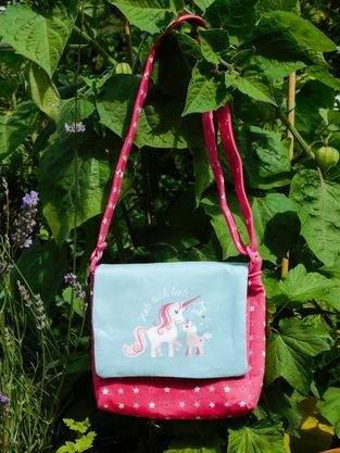 Makerist - Eine Einhorntasche für den Einhornfan - 1