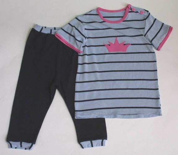 Makerist - Babyoutfit aus T-Shirts - Nähprojekte - 1