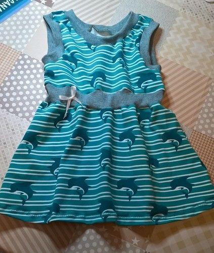 Makerist - Baby Kleid aus Jersey - Nähprojekte - 1