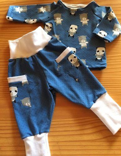Makerist - Babyset aus Baumwolljersey - Nähprojekte - 2