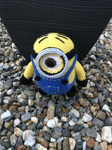 Makerist - Minion - Häkelprojekte - 1