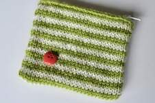 Makerist - Stripy Purse - 1