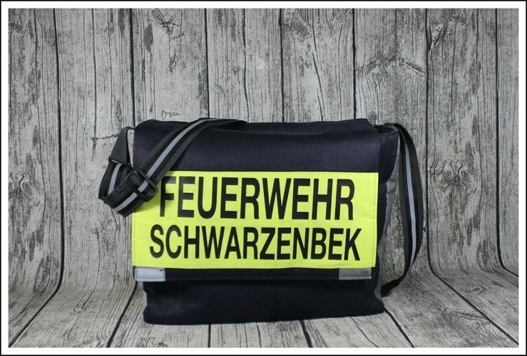 Makerist - Massenger Bag aus alter Feuerwehrjacke - Nähprojekte - 1
