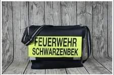 Makerist - Massenger Bag aus alter Feuerwehrjacke - 1