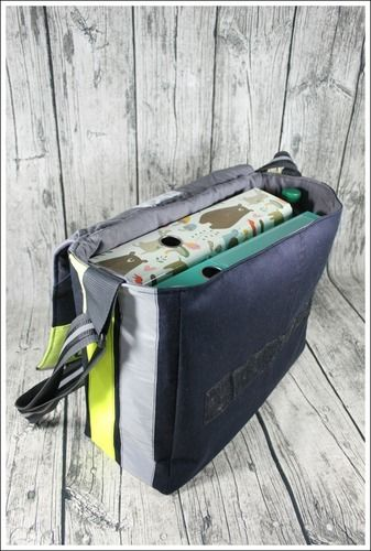 Makerist - Massenger Bag aus alter Feuerwehrjacke - Nähprojekte - 3