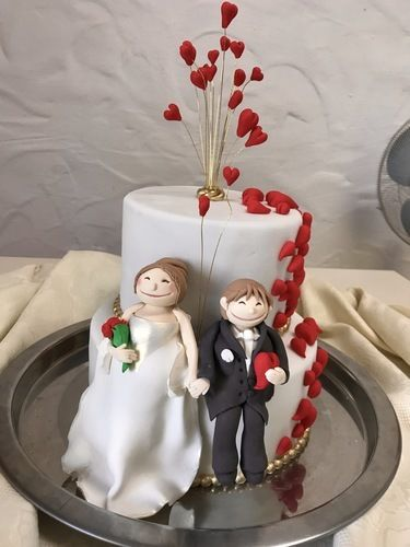 Makerist - Just Married - Torten, Cake Pops und Cupcakes - 1