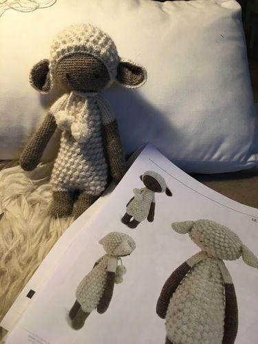 Makerist - Lupo Lämmchen - Alpaca Wolle - Häkelprojekte - 1