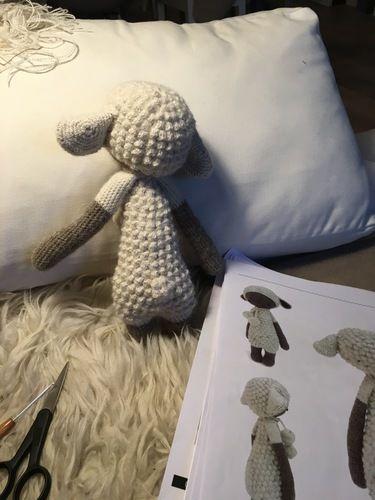 Makerist - Lupo Lämmchen - Alpaca Wolle - Häkelprojekte - 2