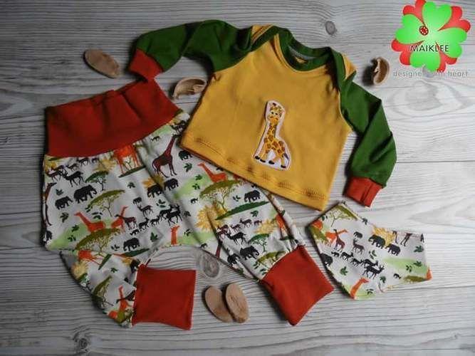 Makerist - Shirt aus dem Babyset von Fadenkäfer - Nähprojekte - 1