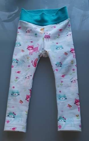 Makerist - Jersey Baby Leggings gr. 80 nach dem Schnittmuster von KID5  - 1