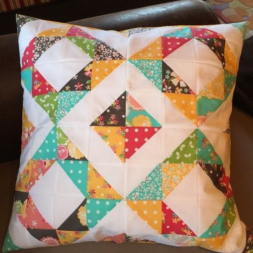 Makerist - 3 PW-Kissen - Patchwork-Projekte - 1