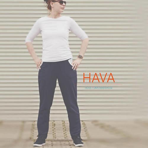 Makerist - HAVA, meine neue Hose - Nähprojekte - 2